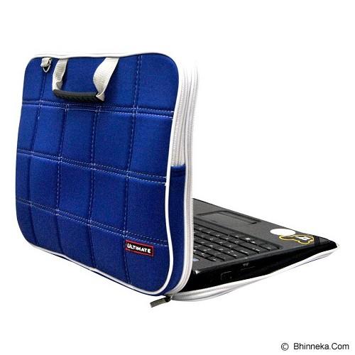 ULTIMATE Tas Laptop Double SL 14 inch - Blue - Notebook Shoulder / Sling Bag