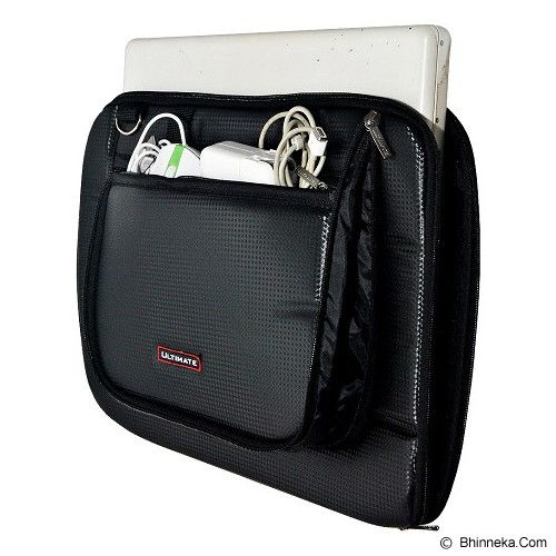 ULTIMATE Tas Laptop Single Kevlar MX 15 Inch - Black - Notebook Carrying Case