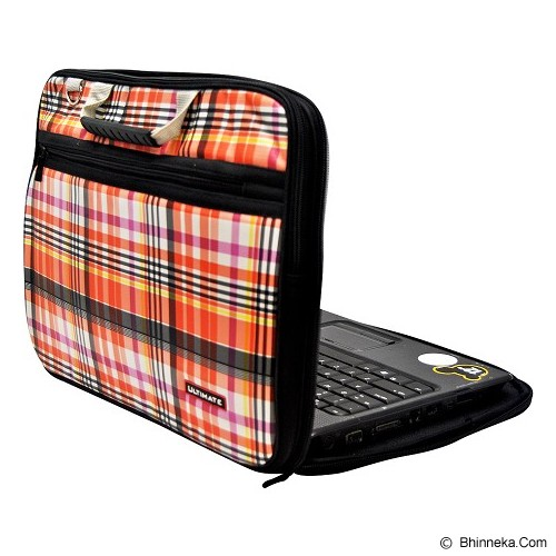 ULTIMATE Tas Laptop Double Campina 14 Inch - Orange - Notebook Carrying Case