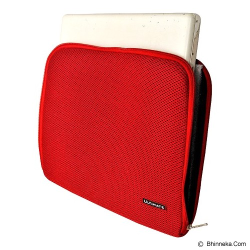 ULTIMATE Tas Laptop Plain RX 14 inch - Red - Notebook Sleeve