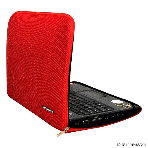 ULTIMATE Tas Laptop Plain RX 14 inch - Red (Merchant) - Notebook Sleeve
