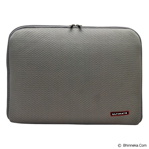 ULTIMATE Tas Laptop Plain RX 15 inch - Gray - Notebook Sleeve