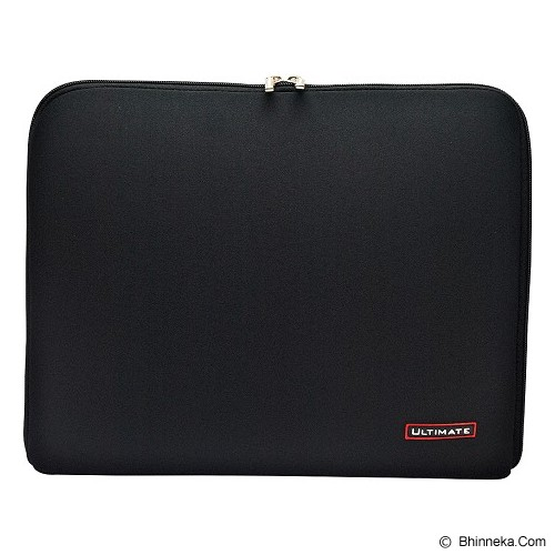 ULTIMATE Tas Laptop Plain Classic 12 inch - Black - Notebook Sleeve