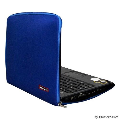 ULTIMATE Tas Laptop Plain Classic 13 inch - Blue (Merchant) - Notebook Sleeve