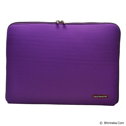 ULTIMATE Tas Laptop Plain Classic 13 inch - Purple (Merchant) - Notebook Sleeve