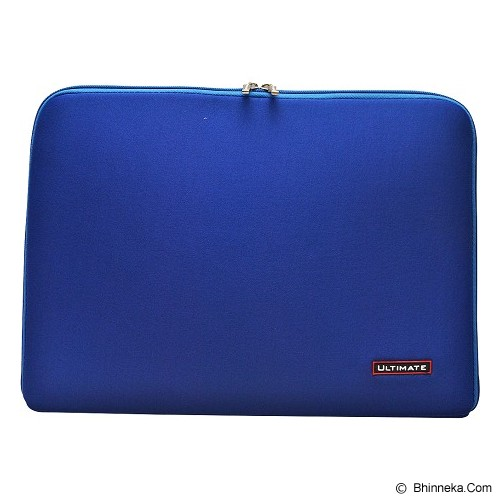 ULTIMATE Tas Laptop Plain Classic 14 inch - Blue (Merchant) - Notebook Sleeve