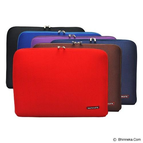 ULTIMATE Tas Laptop Plain Classic 14 inch - Blue - Notebook Sleeve