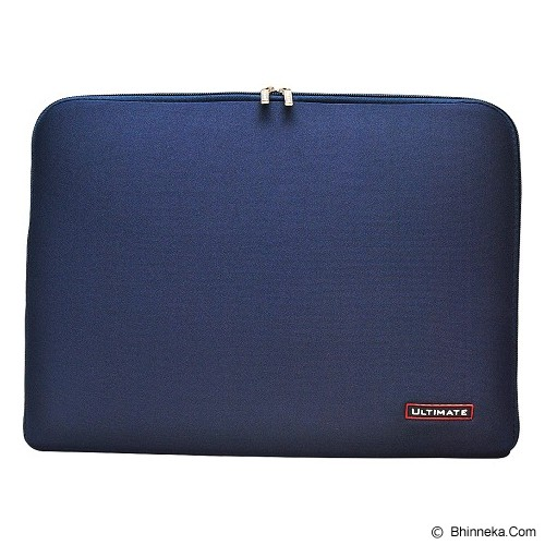 ULTIMATE Tas Laptop Plain Classic 14 inch - Navy - Notebook Sleeve