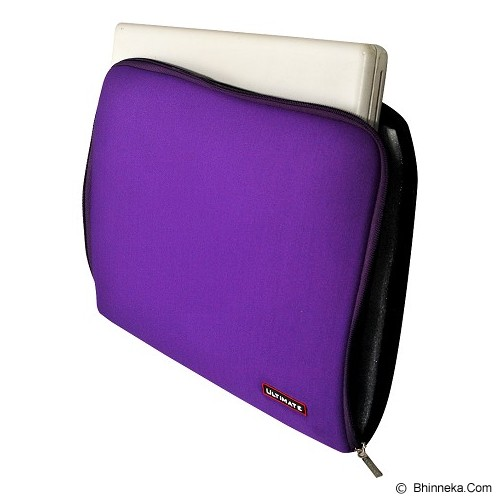 ULTIMATE Tas Laptop Plain Classic 14 inch - Purple (Merchant) - Notebook Sleeve