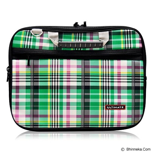 ULTIMATE Tas Laptop Double Campina 12 Inch - Green - Notebook Carrying Case