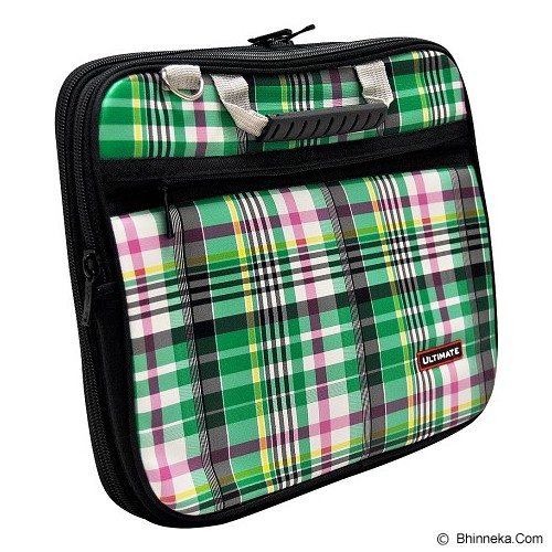 ULTIMATE Tas Laptop Double Campina 12 Inch - Green (Merchant) - Notebook Carrying Case