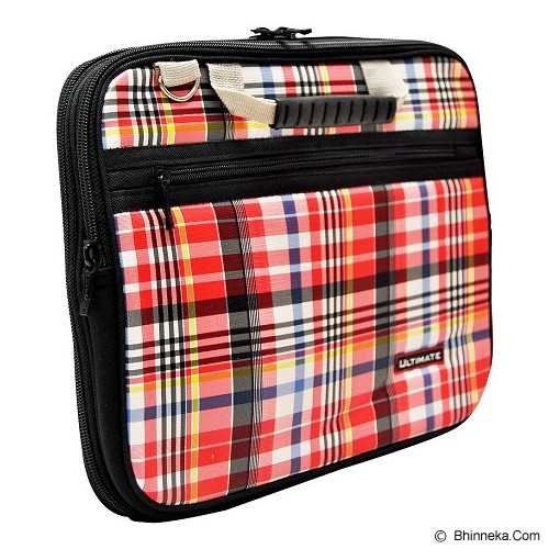 ULTIMATE Tas Laptop Double Campina 12 Inch - Red - Notebook Carrying Case