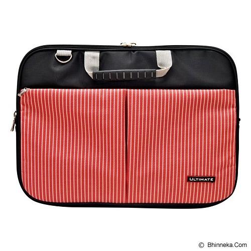 ULTIMATE Tas Laptop Double Line 12 inch - Red - Notebook Shoulder / Sling Bag