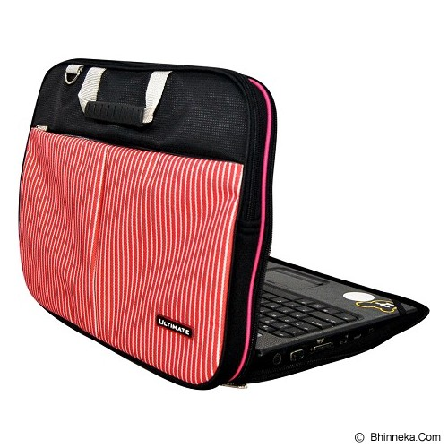 ULTIMATE Tas Laptop Double Line 12 inch - Red - Notebook Shoulder / Sling Bag