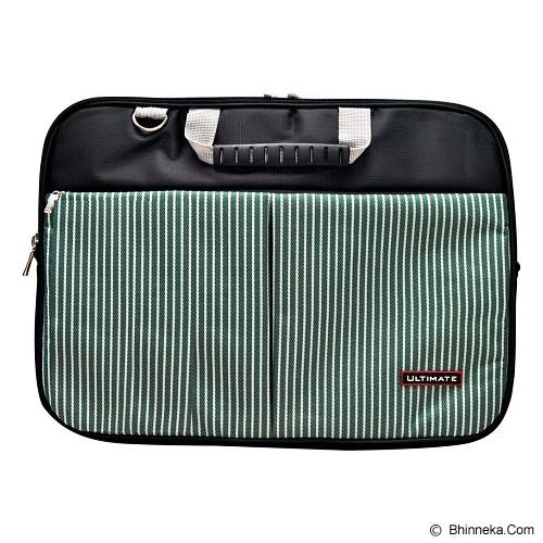 ULTIMATE Tas Laptop Double Line 14 inch - Green - Notebook Shoulder / Sling Bag
