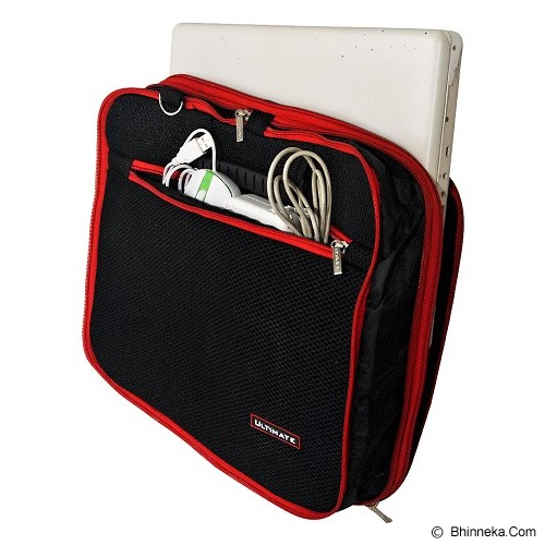 ULTIMATE Tas Laptop Double New RX 12 inch - Red - Notebook Shoulder / Sling Bag