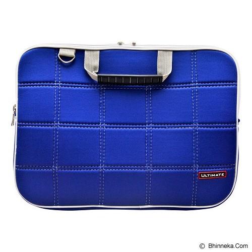 ULTIMATE Tas Laptop Double SL 12 inch - Blue - Notebook Shoulder / Sling Bag