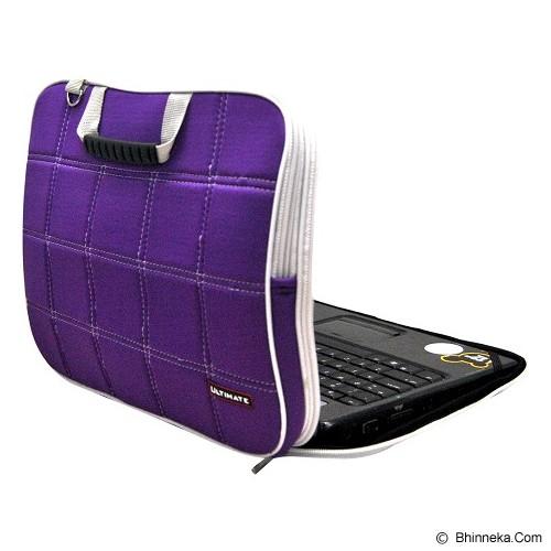 ULTIMATE Tas Laptop Double SL 12 inch - Purple - Notebook Shoulder / Sling Bag
