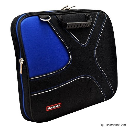 ULTIMATE Tas Laptop Double X 12 Inch - Blue - Notebook Carrying Case