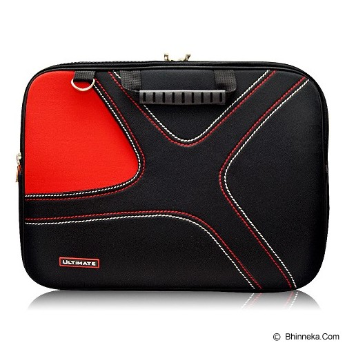 ULTIMATE Tas Laptop Double X 12 Inch - Red - Notebook Carrying Case