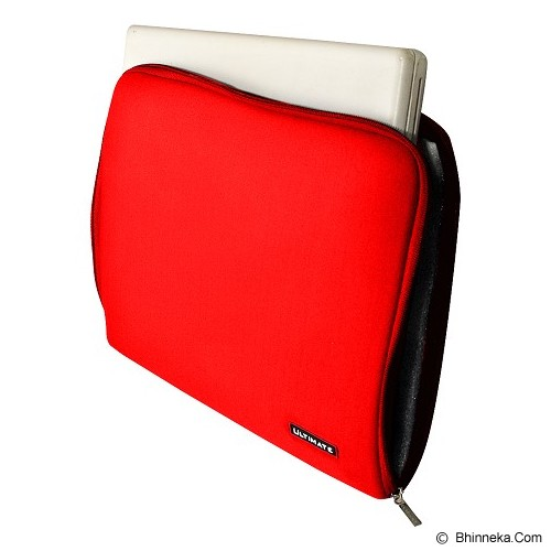 ULTIMATE Softcase Notebook Plain Classic 11 Inch - Red (Merchant) - Notebook Sleeve