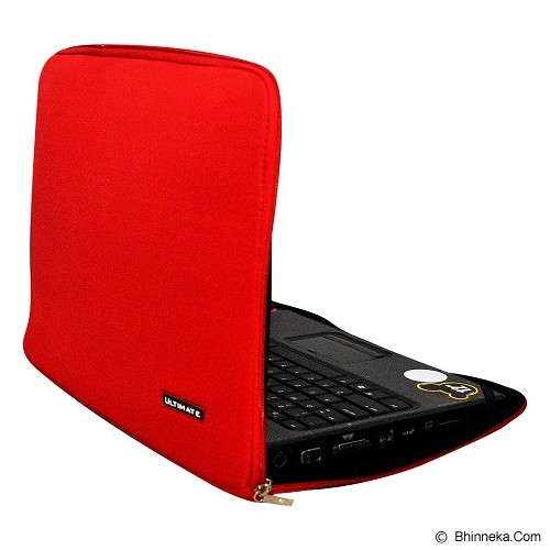 ULTIMATE Softcase Notebook Plain Classic 11 Inch - Red - Notebook Sleeve