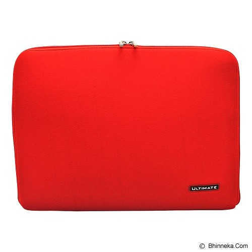 ULTIMATE Softcase Notebook Plain Classic 15 Inch - Red (Merchant) - Notebook Sleeve