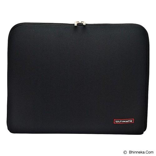 ULTIMATE Tas Laptop Plain Classic 10 inch - Black - Notebook Sleeve