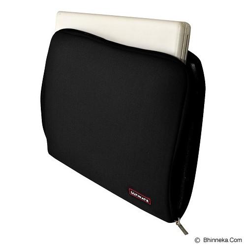 ULTIMATE Tas Laptop Plain Classic 10 inch - Black (Merchant) - Notebook Sleeve