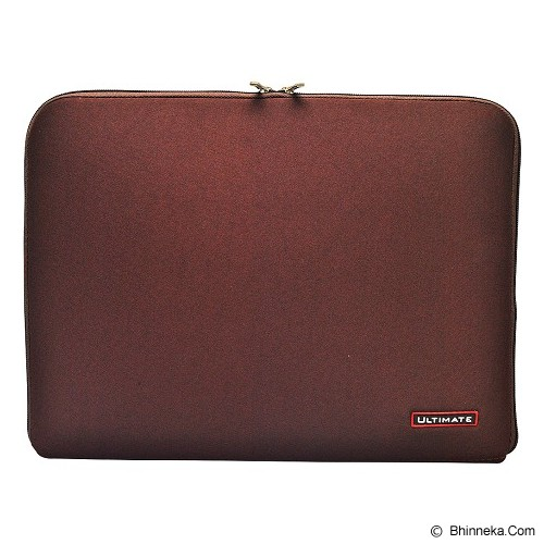 ULTIMATE Tas Laptop Plain Classic 10 inch - Brown - Notebook Sleeve