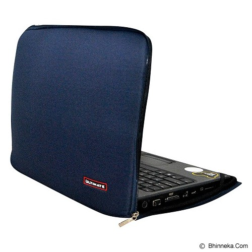 ULTIMATE Tas Laptop Plain Classic 10 inch - Navy (Merchant) - Notebook Sleeve