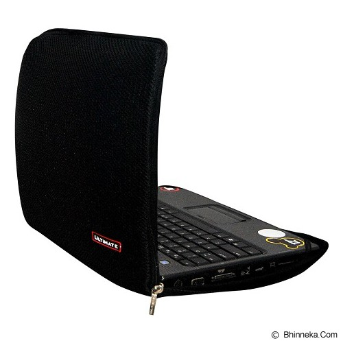 ULTIMATE Tas Laptop Plain RX 10 inch - Black (Merchant) - Notebook Sleeve