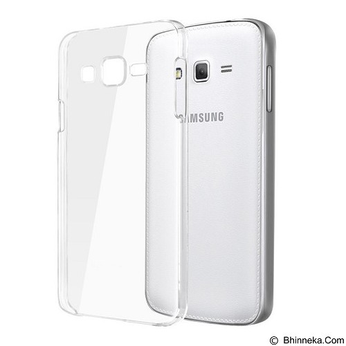 ULTRATHIN Samsung Galaxy Grand Prime G530H TPU Case - Transparent White - Casing Handphone / Case