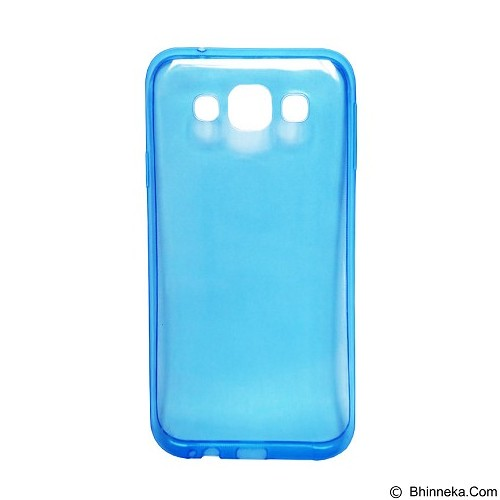 ULTRATHIN Softcase Samsung Galaxy J2 (2016) Transparant - Blue (Merchant) - Screen Protector Handphone
