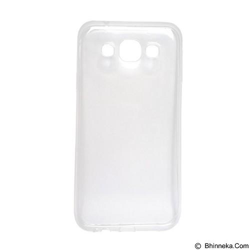 ULTRATHIN Softcase Samsung Galaxy J510 (J5 2016) Transparant - Clear (Merchant) - Screen Protector Handphone