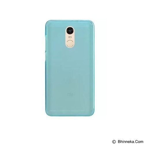 ULTRATHIN Xiaomi Redmi Note 4 TPU Case - Blue (Merchant) - Casing Handphone / Case
