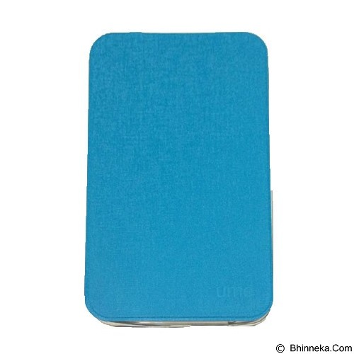 UME Enigma Case Samsung Galaxy Tab A T350 Flip Cover - Blue (Merchant) - Casing Tablet / Case