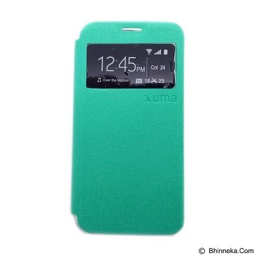 UME Enigma Case for Smartfren Andromax Q Flip Cover [Ume0004] - Green - Casing Handphone / Case