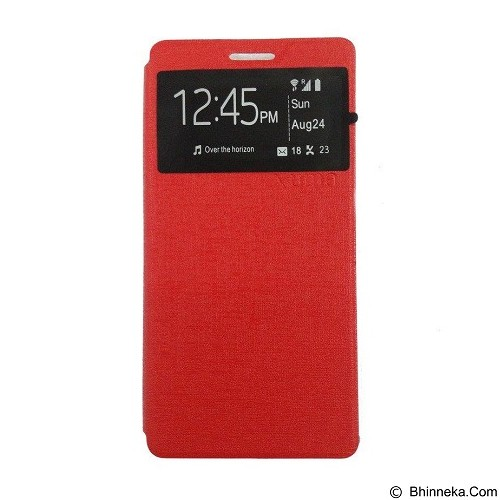 UME Enigma Case for Samsung Galaxy S6 Edge Flip Cover - Red (Merchant) - Casing Handphone / Case