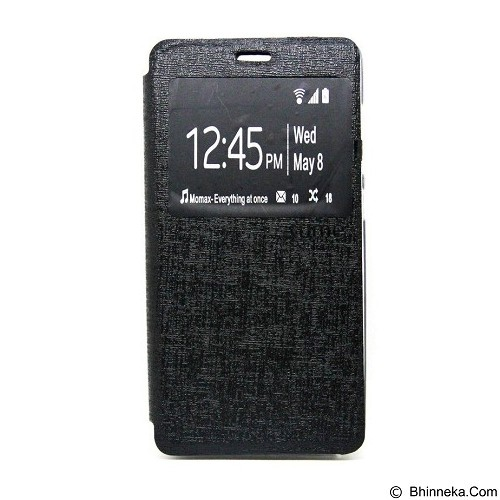 UME Enigma Case for Samsung Galaxy Young Duos Flip Cover [Ume0027] - Black - Casing Handphone / Case