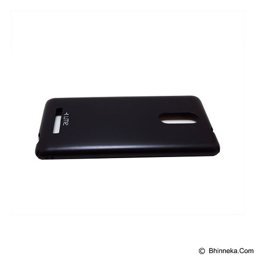 UME Flip Leather Case Xiaomi Redmi Note 3 - Black - Casing Handphone / Case
