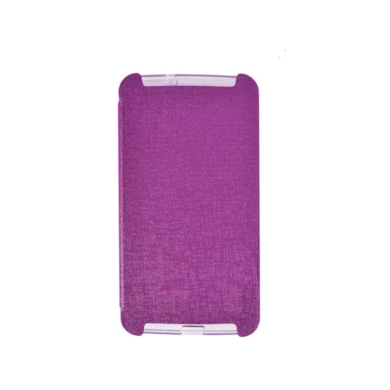 UME Soft Colorful for Lenovo A706 [UME-ESC-PP-A706] - Purple - Casing Handphone / Case