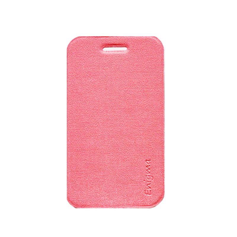UME Soft Colorful for Lenovo A390T [UME-ESC-WT-A390T] - Pink - Casing Handphone / Case