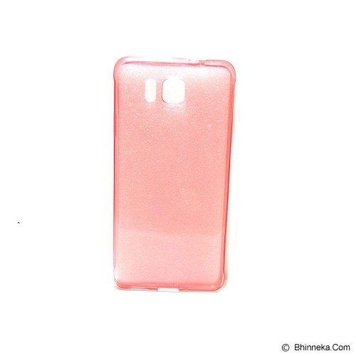 UME Ultra Fit Air Silicon Soft Case Samsung Galaxy Alpha - Red - Casing Handphone / Case