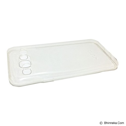 UME Ultra Fit Air Silicon Soft Case Samsung Galaxy E5 - Clear - Casing Handphone / Case