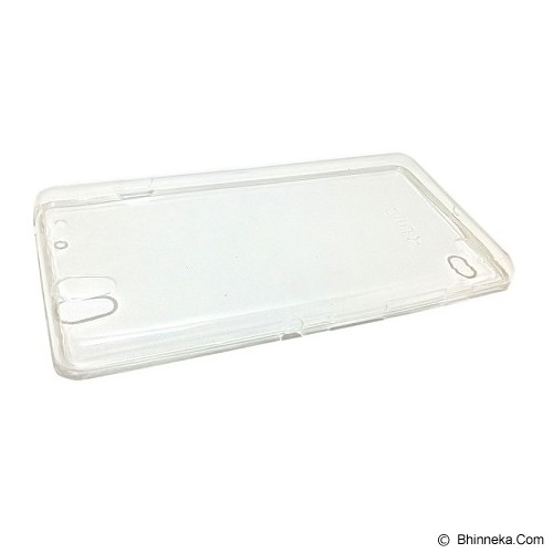 UME Ultra Fit Air Silicon Soft Case Sony Xperia C4 - Clear - Casing Handphone / Case