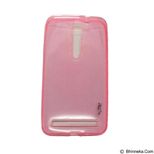 UME UltraThin Softcase for Asus Zenfone 2 5.5Inch/ZE550ML/ZE551ML - Pink (Merchant) - Casing Handphone / Case