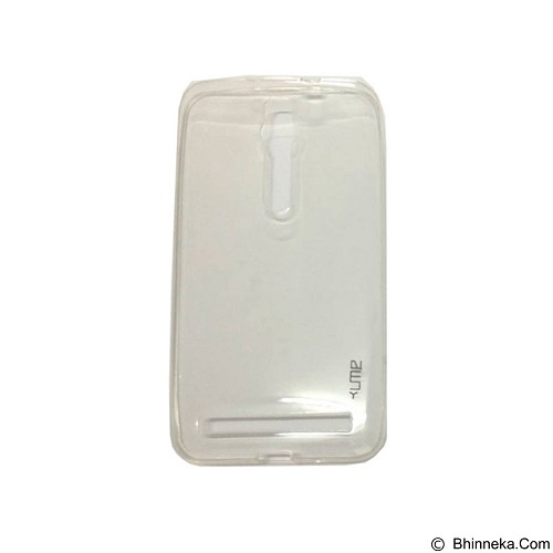 UME UltraThin Softcase for Asus Zenfone 2 5.5Inch/ZE550ML/ZE551ML - Transparent (Merchant) - Casing Handphone / Case