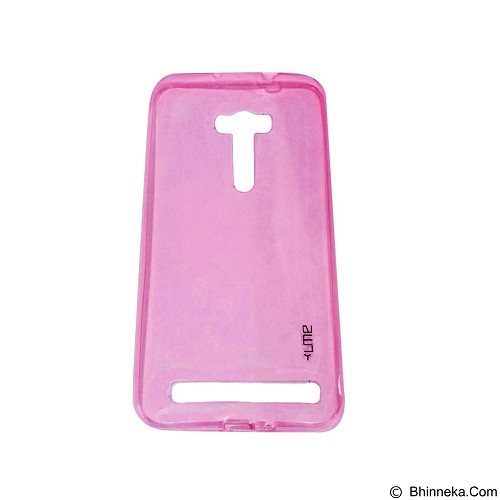UME UltraThin Softcase for Asus Zenfone Laser 6/ZE601KL - Pink (Merchant) - Casing Handphone / Case