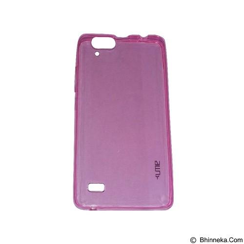 UME UltraThin Softcase for Infinix Hot3/ X553 - Pink (Merchant) - Casing Handphone / Case